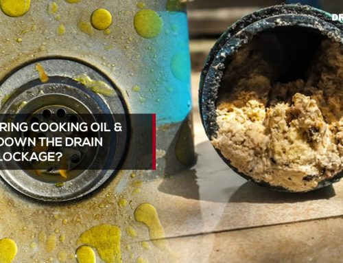 Can pouring cooking oil & grease down the drain cause blockage?