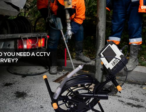 When do you need a CCTV drain survey?