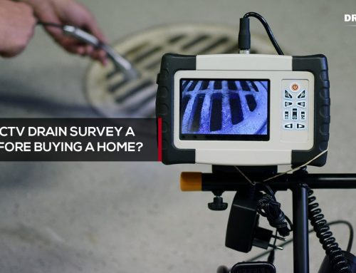 Why conduct a CCTV drain survey before buying house?