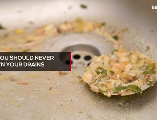 Things you should never put down your drains